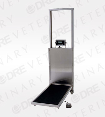 Elite Wall Mounted Longitudinal Lift Table with Scale