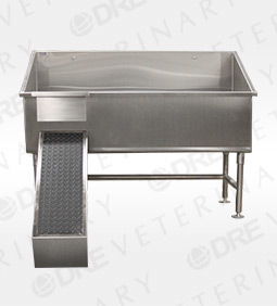 Economy Tub with Removable Ramp