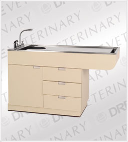 DRE All Purpose Wet Table w/ Large Knee for Close-up Procedures
