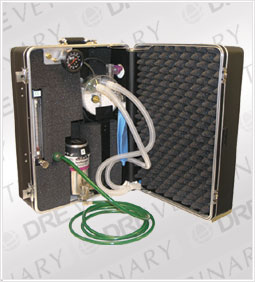 DRE Transport 2000: Field Services Anesthesia Machine/Carrying Case