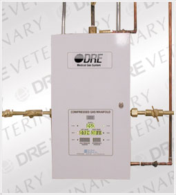 DRE Automatic Digital Gas Manifold