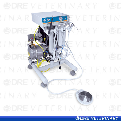 DRE Teres V-400 High Speed Veterinary Dental Air Unit
