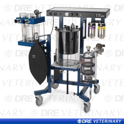 DRE Titan Large Animal Anesthesia Machine