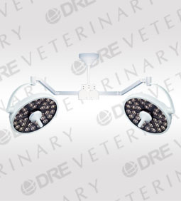 DRE Vision LED Surgery Dual Head Ceiling Mount