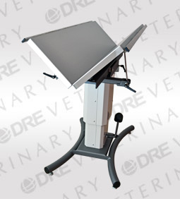 DRE Edge Heated V-Top Table with Rails - 58""