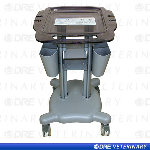 Grey Medical Mobile Trolley Cart for Portable Ultrasound