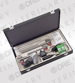 Fiber Optic Sigmoidoscope Set / Deluxe Proctologic Set