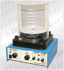 Hallowell 2000 Anesthesia Ventilator with Adjustable I:E: 0-300ml includes bellows, housing, adapter