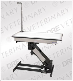 DRE GVT 1400 LowRider: Masterlift Electric Lighted Fixed Top Grooming Table