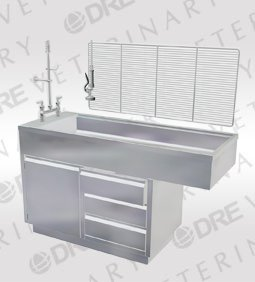 DRE Stainless Steel Cabinet Wet Table