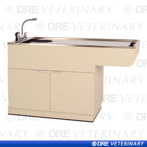 DRE WVT 3150-60CAB: Multipurpose Bi-level Wet Table with Knee Space